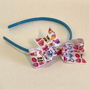 Girls' Emoji Headband 💍💋💄👯♀️👛 💅🏻 💸🎀💌